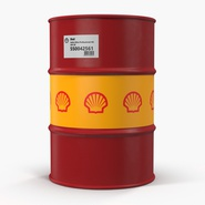 Oil Barrel Shell. Preview 5