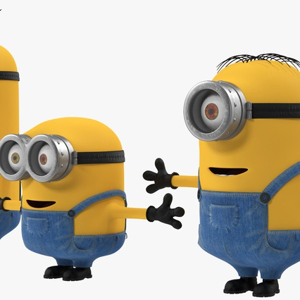 Minions Collection. Render 7