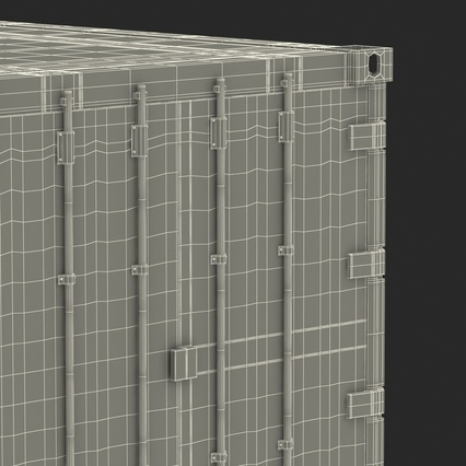 ISO Refrigerated Container. Render 45