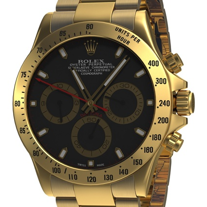 Rolex Watches Collection. Render 20