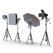 Photo Studio Lamps Collection. Preview 8