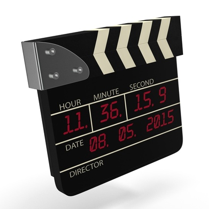 Digital Clapboard 2. Render 14
