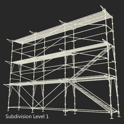 Scaffolding Collection 2. Render 48