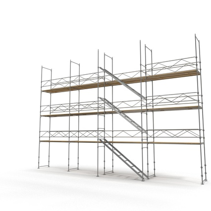 Scaffolding Collection 2. Render 4