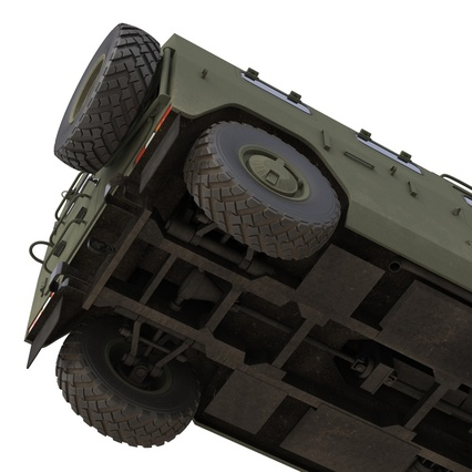 Russian Mobility Vehicle GAZ Tigr M Rigged. Render 63
