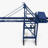 Container Crane Blue. Preview 11