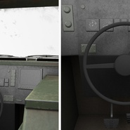 Fennek German Reconnaissance Vehicle Rigged. Preview 19