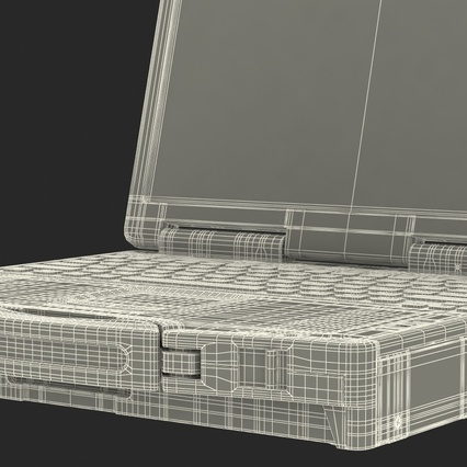 Panasonic Toughbook. Render 30