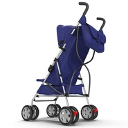 Baby Stroller Blue. Preview 8