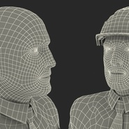 Construction Engineer in Hardhat Standing Pose. Preview 26