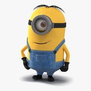 Short One Eyed Minion Rigged