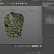 Military Camouflage Vest. Preview 15