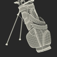 Golf Bag Seahawks with Clubs. Preview 27