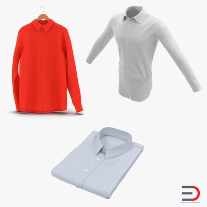 Shirts Collection. Render 1