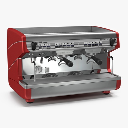Espresso Machine Simonelli. Render 1