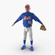 Baseball Player Mets