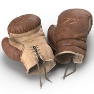 Old Leather Boxing Glove(1). Preview 21