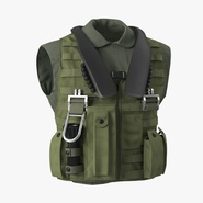 US Military Vest. Preview 1