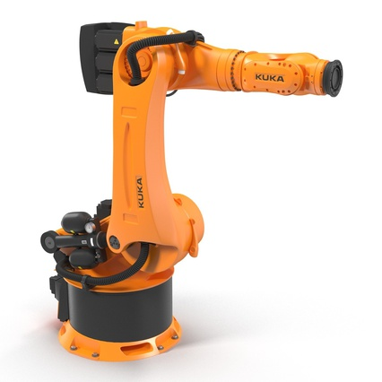 Kuka Robots Collection 5. Render 31