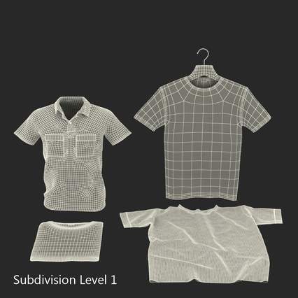 T-Shirts Collection. Render 48