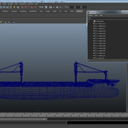 Sea Cargo Ship Generic. Preview 30