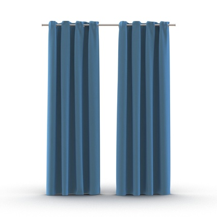 Curtains Collection. Render 3
