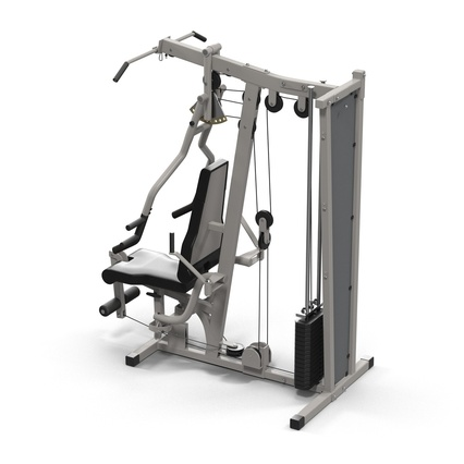 Weight Machine 2. Render 14