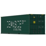 40 ft High Cube Container Green. Preview 8