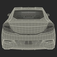 Generic Hybrid Car Rigged. Preview 84