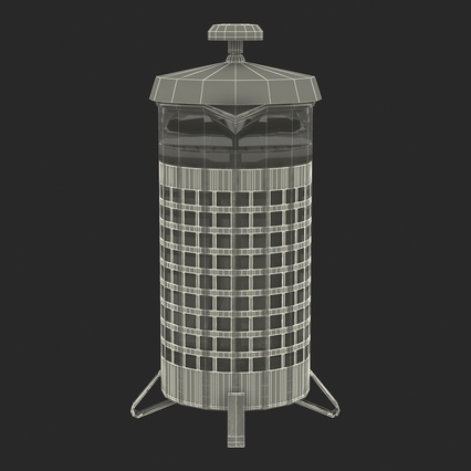 French Press. Render 37