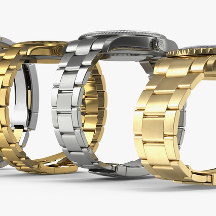 Rolex Watches Collection. Render 8