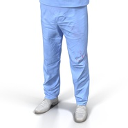 Male Surgeon Asian Rigged with Blood 2 for Cinema 4D. Preview 32