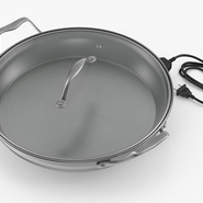 Round Electric Skillet. Preview 9