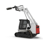 Compact Tracked Loader with Auger. Preview 19