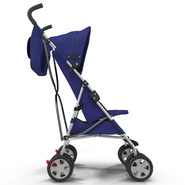 Baby Stroller Blue. Preview 12