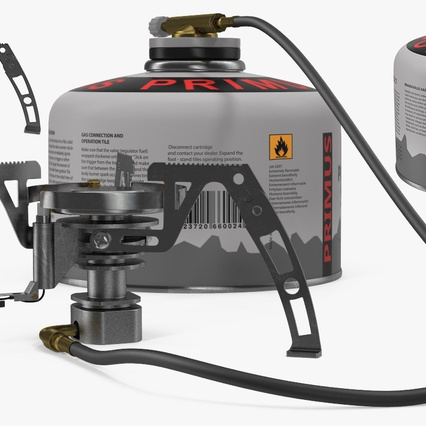 Camping Gas Stove 3. Render 10