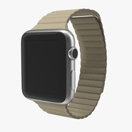 Apple Watch 42mm Stone Leather Magnetic Closure