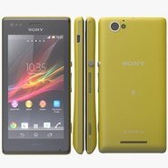 Sony Xperia M Yellow