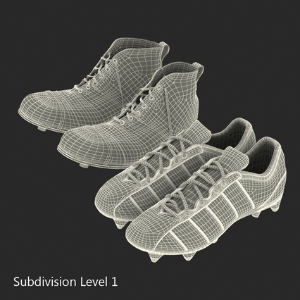 Football Boots Collection. Render 48
