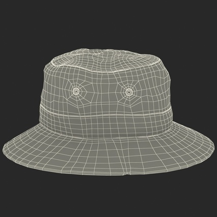 Fishing Hat. Render 25