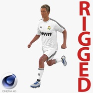 Soccer Player Real Madrid Rigged 2 for Cinema 4D
