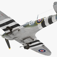 Royal Air Force Fighter Supermarine Spitfire LF Mk IX Rigged. Preview 14