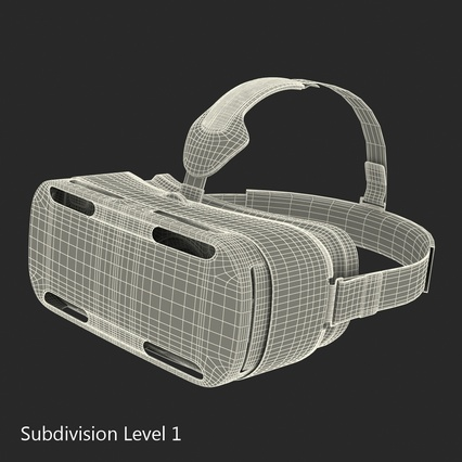 Virtual Reality Goggles Collection. Render 86