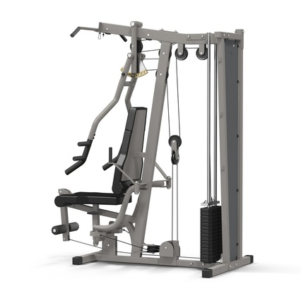 Weight Machine 2. Render 8