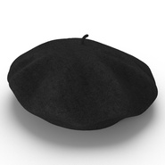 Wool Classic Beret Hat. Preview 6