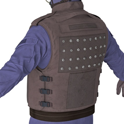 SWAT Uniform. Render 23