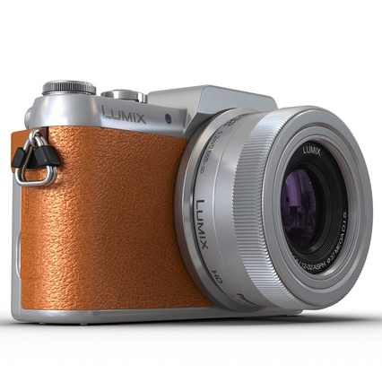 Panasonic DMC GF7 Brown. Render 16