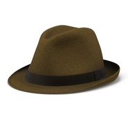 Fedora Hat Brown. Preview 4