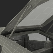 Generic Hybrid Car Rigged. Preview 97