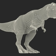 Tyrannosaurus Rex Rigged for Maya. Preview 32